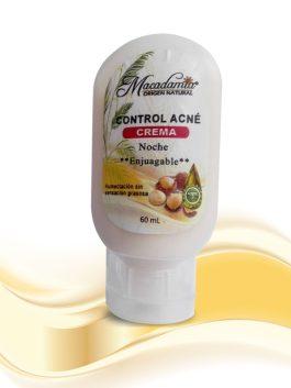 Crema Control Acné, deja tu piel suave y humectada - Macadamia Origen Natural