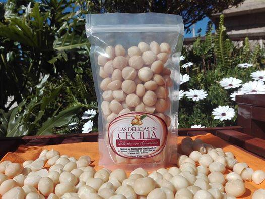 Alimento nueces de macadamia