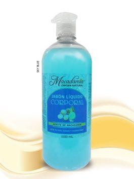 Jabón-Liquido con Aceite de Macadamia -x-1000ml--Sky Blu Macadamia Origen Natural