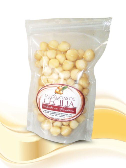 Nueces de Macadamia x 250 gr Las Delicias de Cecilia Productos con Macadamia