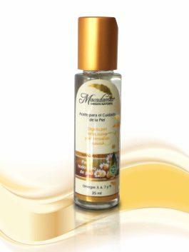 Aceite de Macadamia x 35 manzanilla Macadamia Origen Natural nutre y humecta la piel sin dejar sensación grasosa