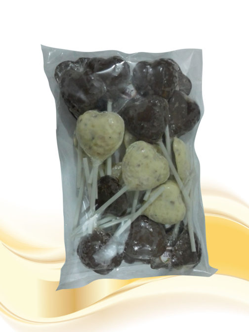 Bombones-paquete x 30 Con trocitos de Macadamia Las Delicias de Cecilia Productos con Macadamia