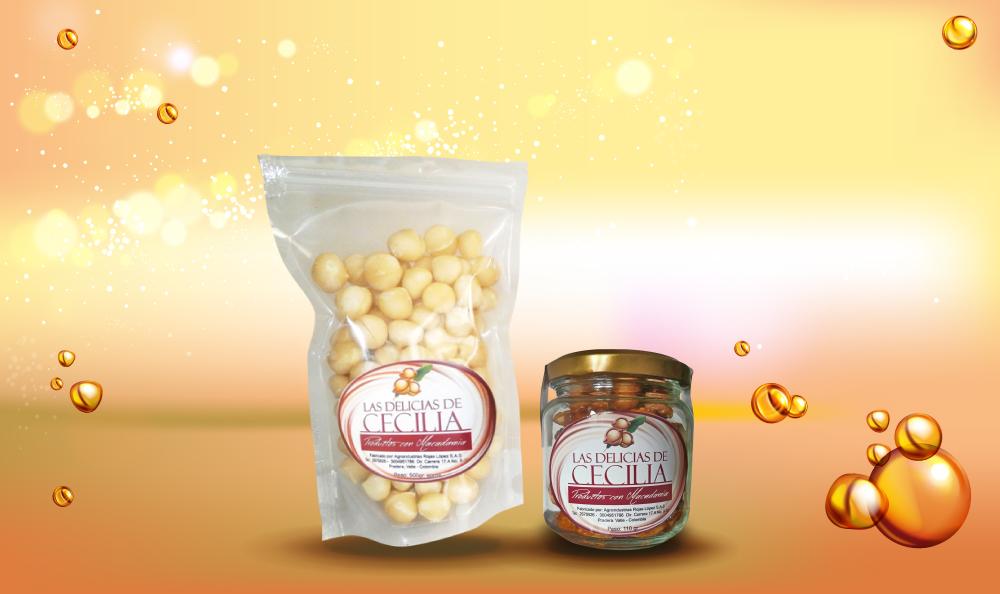 linea-alimentos Las Delicias de Cecilia Productos con Macadamia