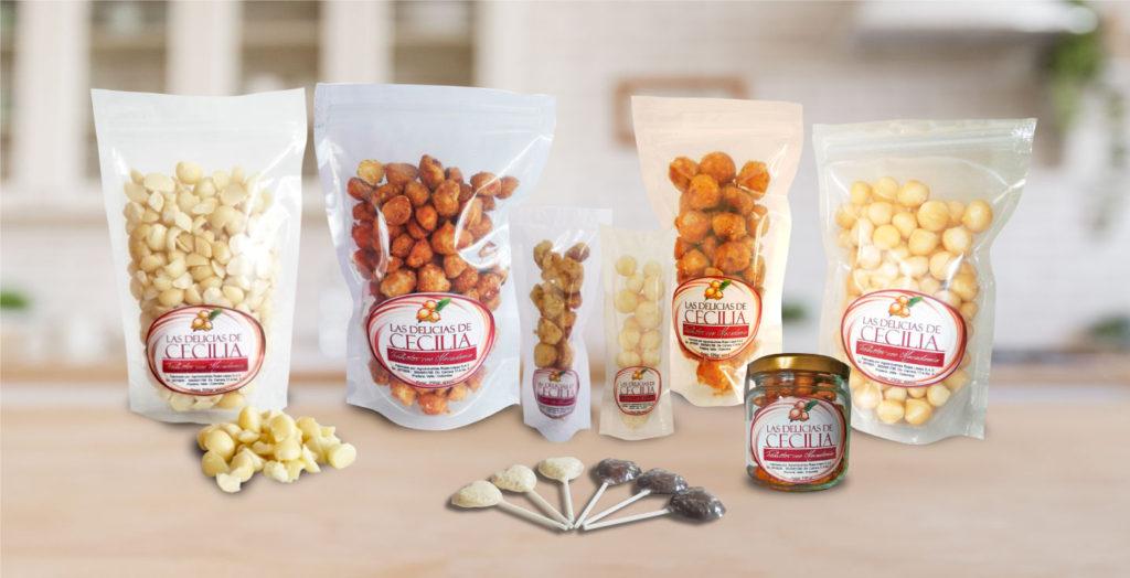 Las Delicias de Cecilia Productos con Macadamia