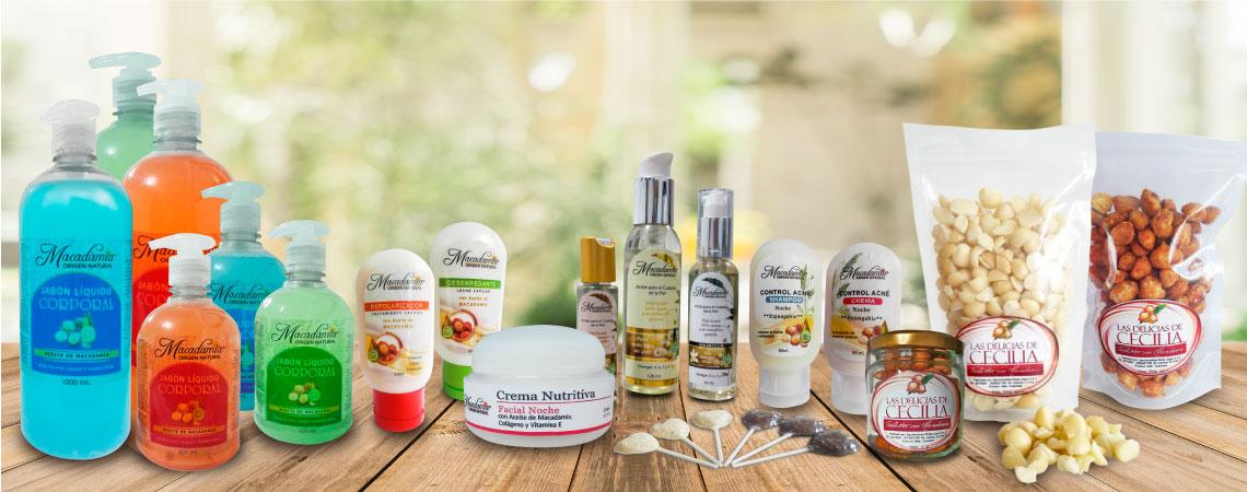 Productos con Macadamia al por mayor